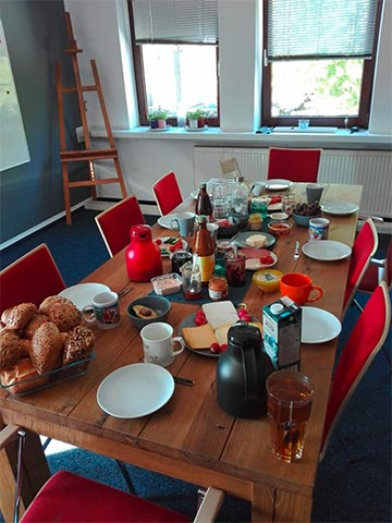 Freizeitangebote Frühstücksgruppe